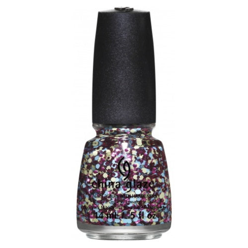 CHINA GLAZE לק לציפורניים - Suprise Collection - I'm A Go Glitter | HODIVA SHOP