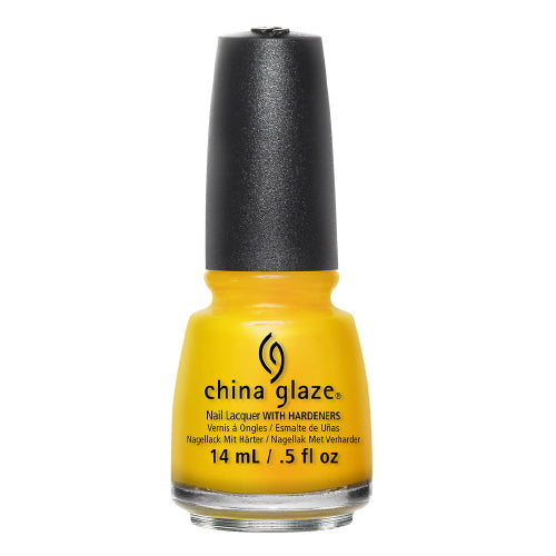 CHINA GLAZE Nail Lacquer - Road Trip - Suns Up Top Down