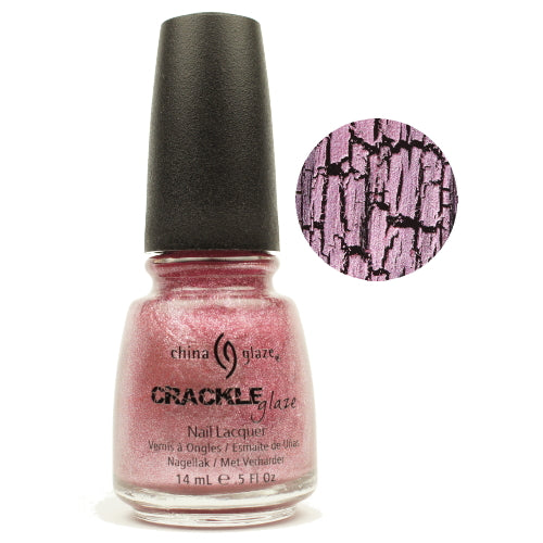 CHINA GLAZE לק לאפקט סדוק Crackle Metals