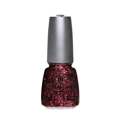 CHINA GLAZE לק לציפורניים - Glitz Bitz '׳n Pieces Collection - Scattered & Tattered