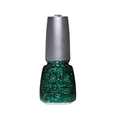 CHINA GLAZE Nail Lacquer - Glitz Bitz 'n Pieces Collection - Grafitti Glitter