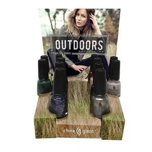 CHINA GLAZE The Great Outdoors Collections | HODIVA SHOP
