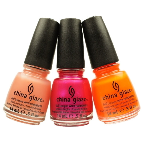 CHINA GLAZE Nail Lacquer with Nail Hardner