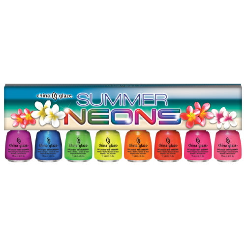 CHINA GLAZE Summer Neon Polish