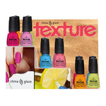 CHINA GLAZE Texture Nail Lacquers
