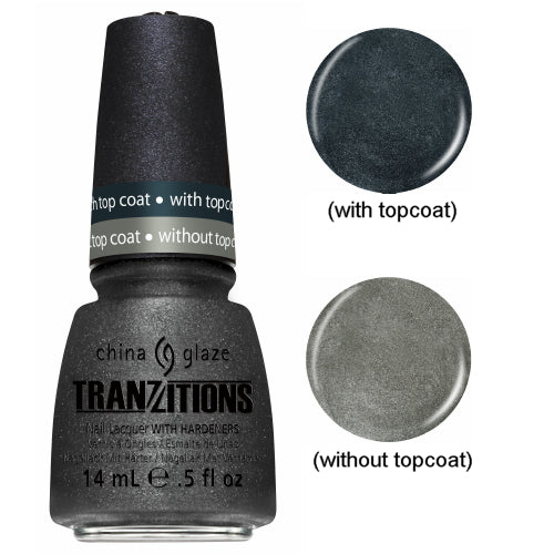 CHINA GLAZE לק לציפורניים - Tranzitions - Metallic Metamorphosis