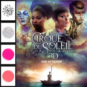 CHINA GLAZE Nail Lacquer - Cirque Du Soleil Worlds Away 3D | HODIVA SHOP