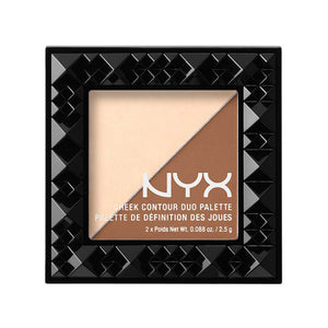 NYX Cheek Contour Duo Palette | HODIVA SHOP