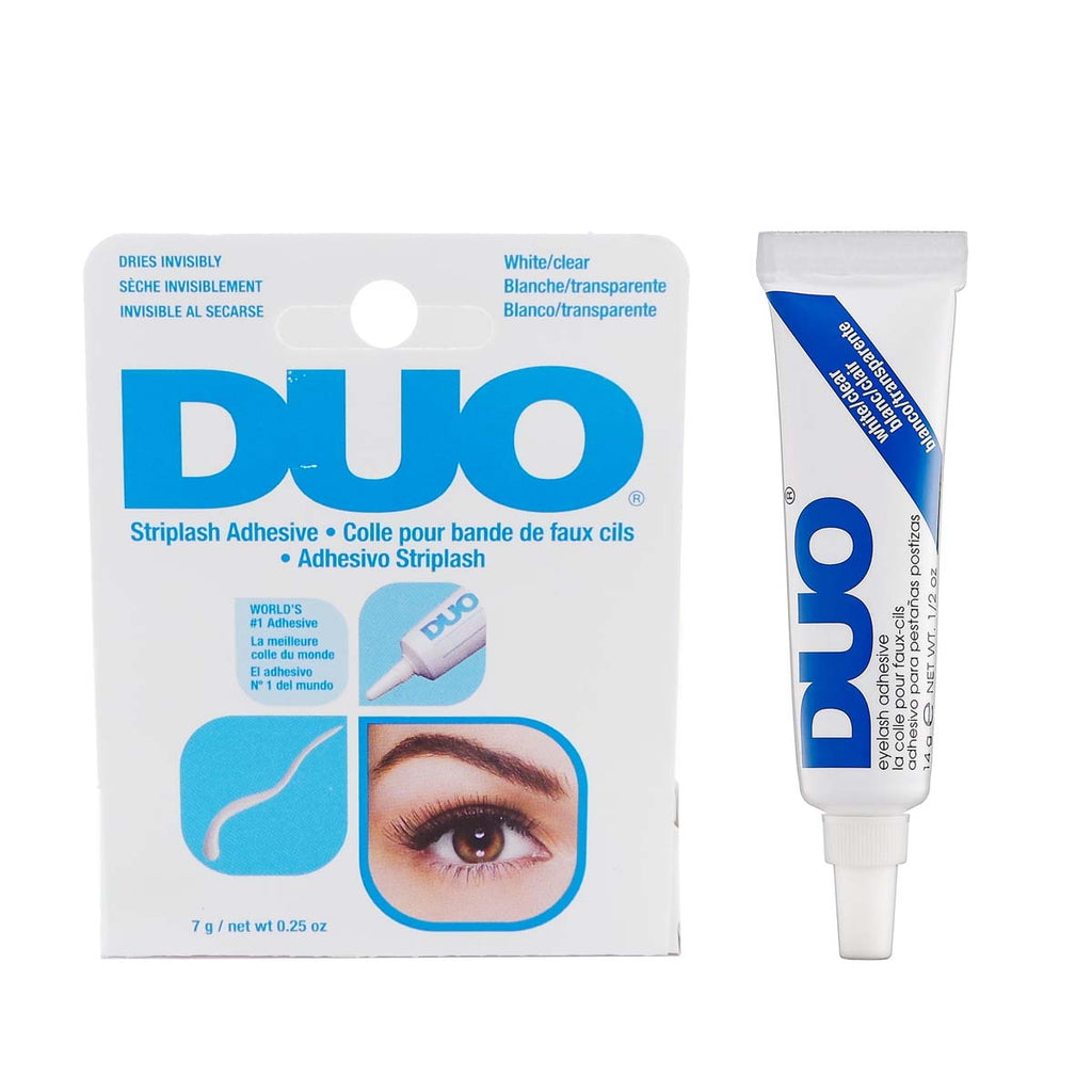 DUO דואו דבק ריסים  - White/Clear | HODIVA SHOP