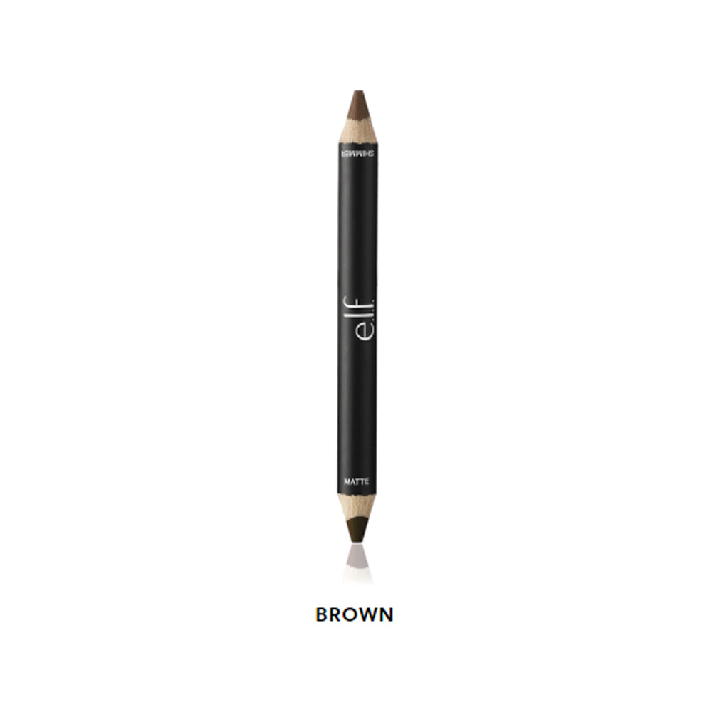 e.l.f. Shadow & Liner Duo Stix - Brown