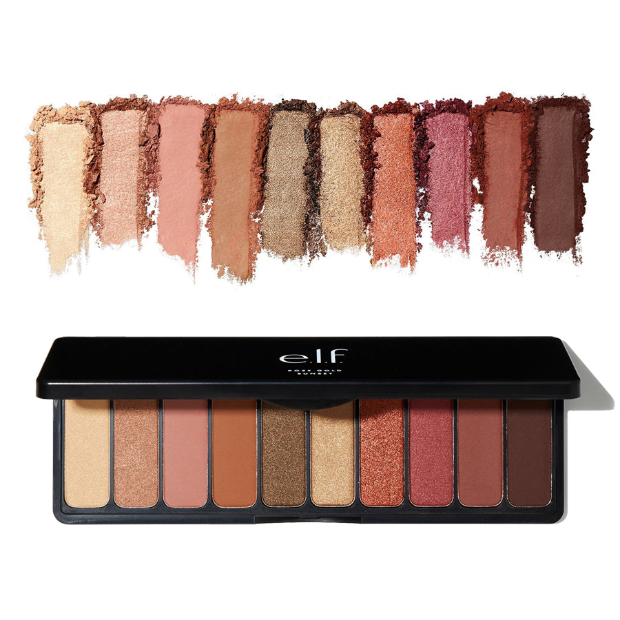 e.l.f. Rose Gold Eyeshadow Palette - Sunset | HODIVA SHOP