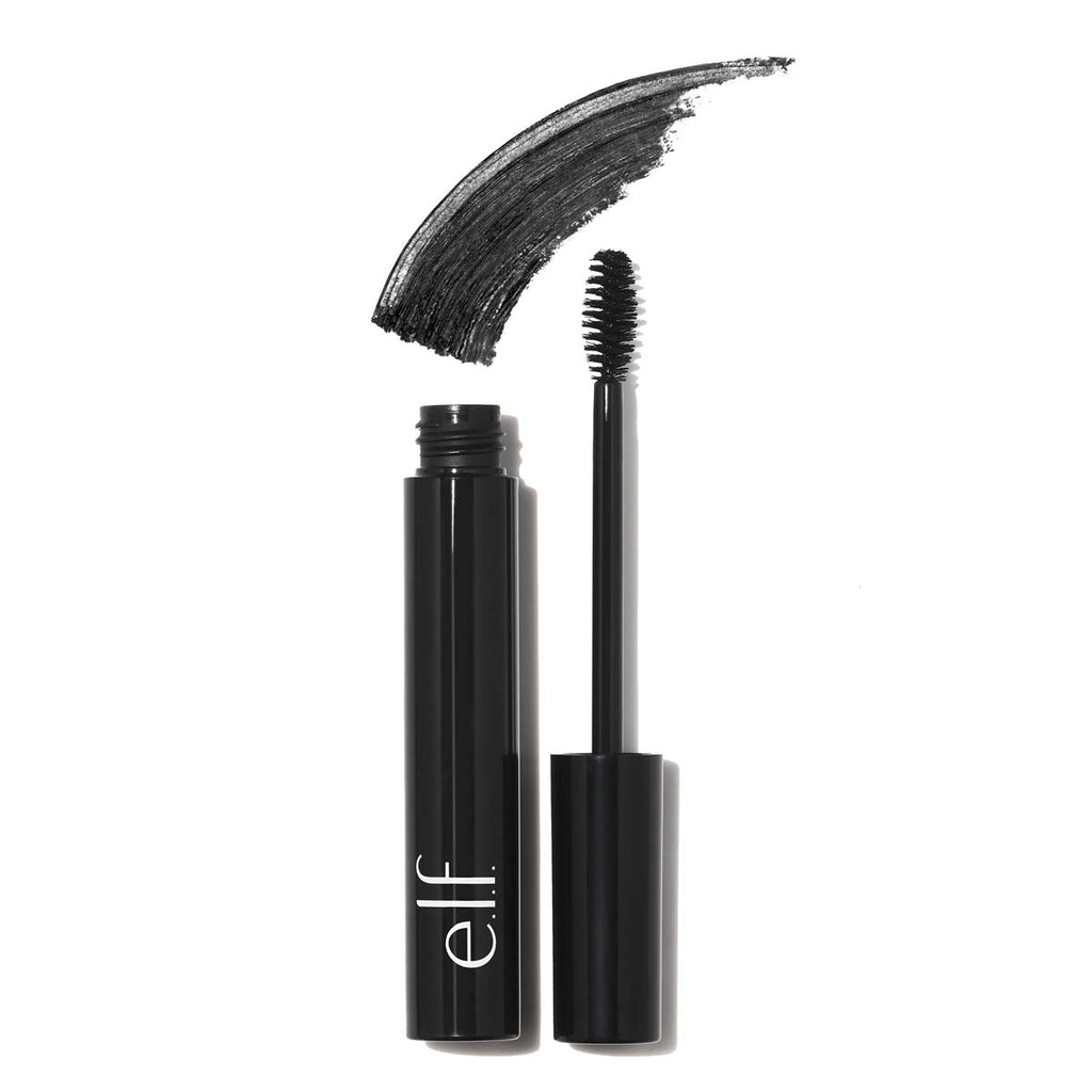 e.l.f. Studio Waterproof Lengthening & Volumizing Mascara - Black | HODIVA SHOP