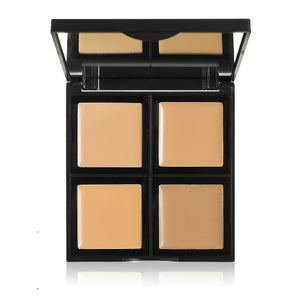 e.l.f. Studio Foundation Palette - Light / Medium | HODIVA SHOP