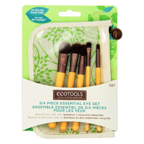 EcoTools Six Piece Essential Eye Brush Set - Bamboo / Recycled Materials