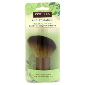 EcoTools Angled Kabuki Brush - Beautifully Soft | HODIVA SHOP