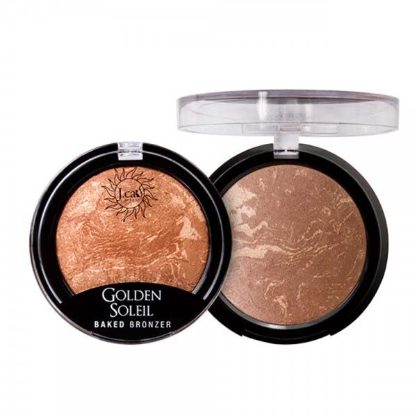 J. CAT BEAUTY Golden Soleil Baked Bronzer | HODIVA SHOP