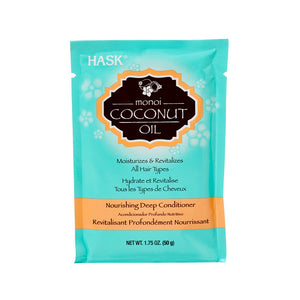 HASK Monoi Coconut Oil Nourishing Deep Conditioner, 1.75 oz | HODIVA SHOP