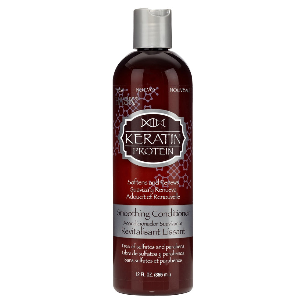 HASK Keratin Protein Smoothing Conditioner, 12 oz | HODIVA SHOP