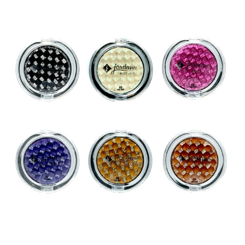 JORDANA Eye Glam Cream Eyeshadow with Glitter on Top Only