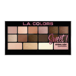 L.A. Colors Sweet! 16 Color Eyeshadow Palette | HODIVA SHOP