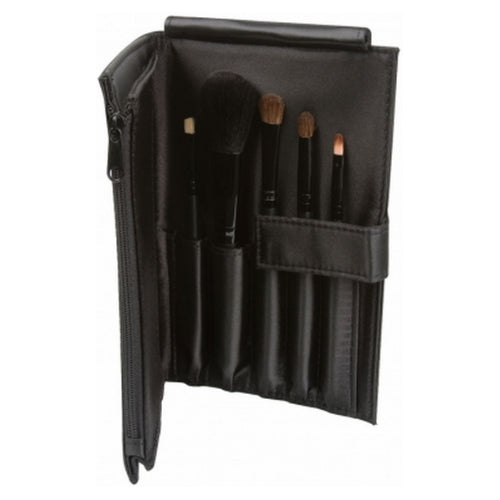 LA GIRL Essential Makeup Brush Set - Black | HODIVA SHOP