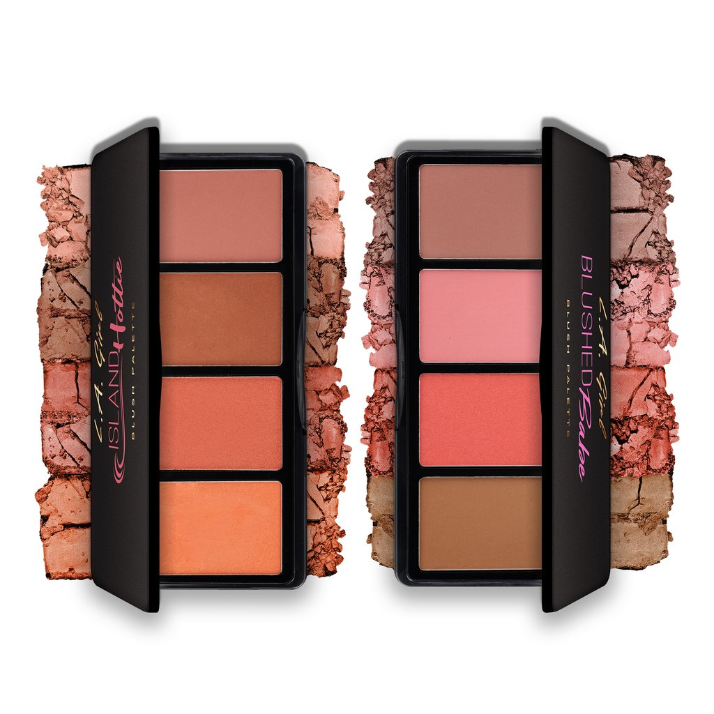 L.A. GIRL Fanatic Blush Palette | פלטת 4 סמקים | HODIVA SHOP