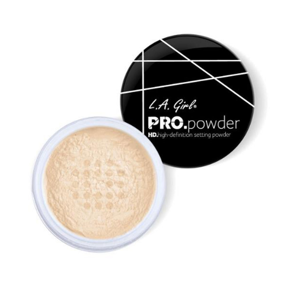 L.A. GIRL HD PRO Setting Powder - Banana Yellow | HODIVA SHOP