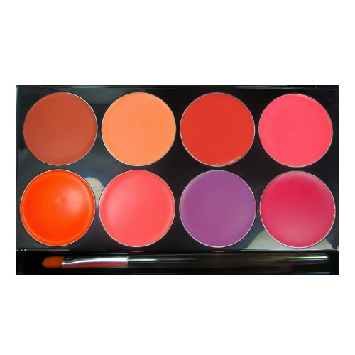 mehron Cheek Cream 8 Color Palette - Cream | HODIVA SHOP