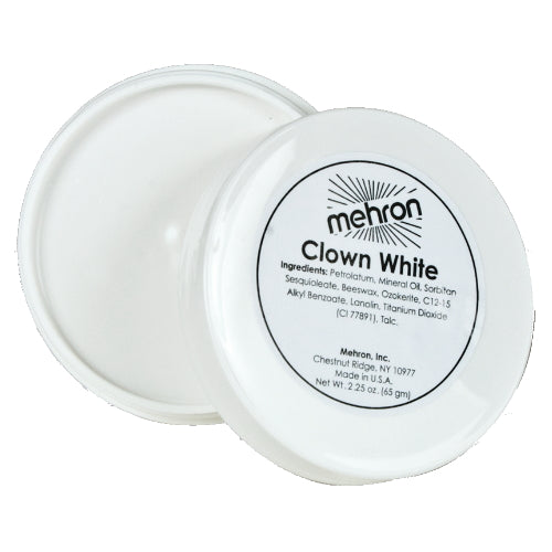 MEHRON Clown White - 2 oz | HODIVA SHOP