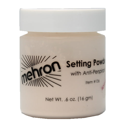 mehron UltraFine Setting Powder with Anti-Perspriant | HODIVA SHOP