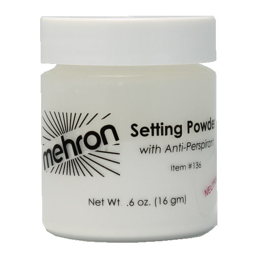 mehron UltraFine Setting Powder with Anti-Perspriant