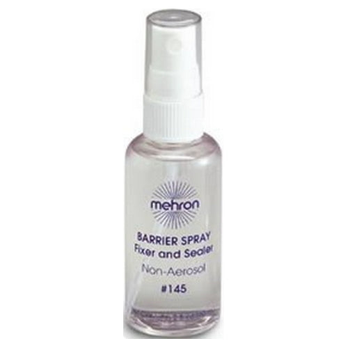 mehron Barrier Spray Fixer and Sealer - Clear