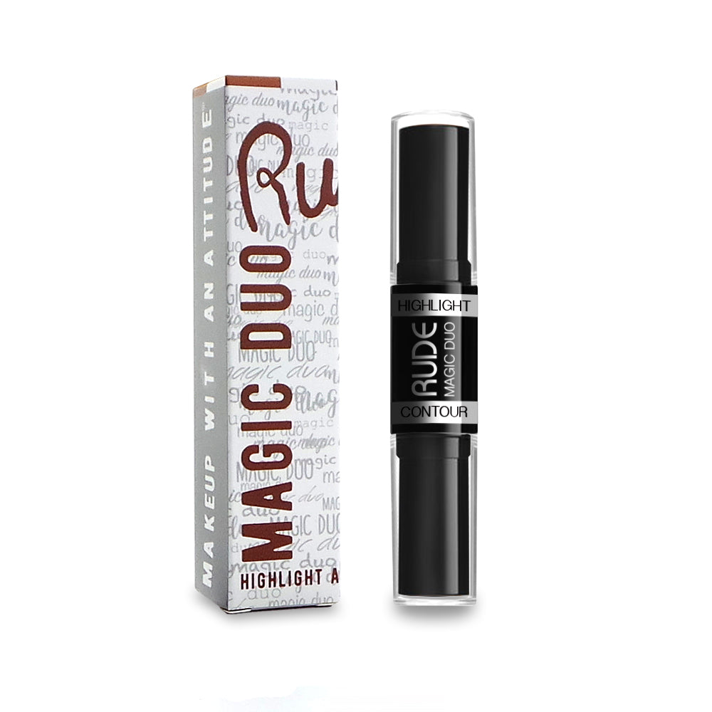 RUDE® Magic Duo Highlight & Contour | HODIVA SHOP