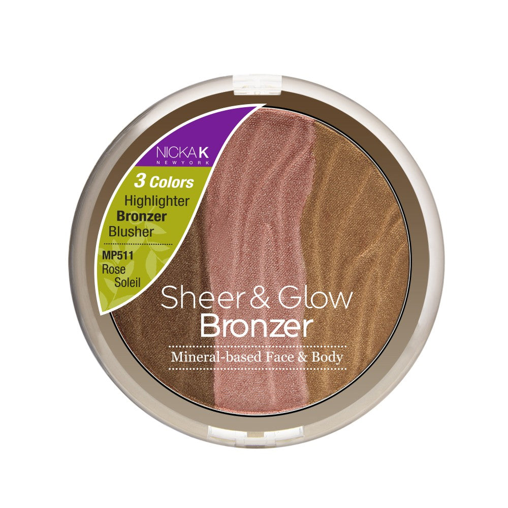 NICKA K Mineral Based Sheer & Glow Bronzer