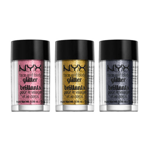 NYX Face & Body Glitter | HODIVA SHOP