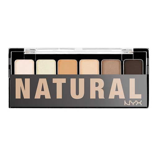 NYX The Natural Shadow Palette | HODIVA SHOP