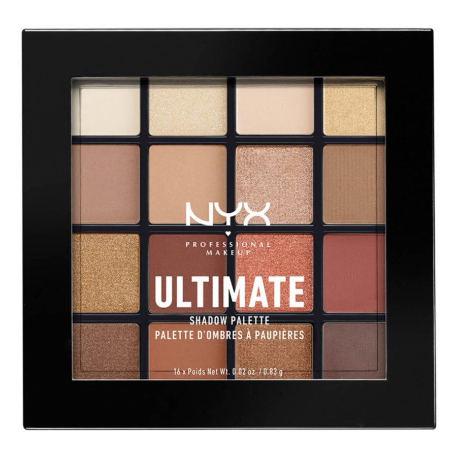 NYX Ultimate Shadow Palette - Warm Neutrals | HODIVA SHOP