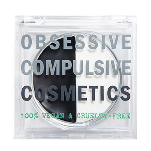 OBSESSIVE COMPULSIVE COSMETICS Tarred & Feathered Lip Balm Duo - Black & White | HODIVA SHOP
