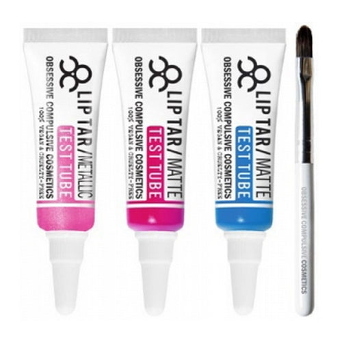 OBSESSIVE COMPULSIVE COSMETICS Lip Tar Test Tube Trio : PICCADILLY PALARE - Piccadilly Palare