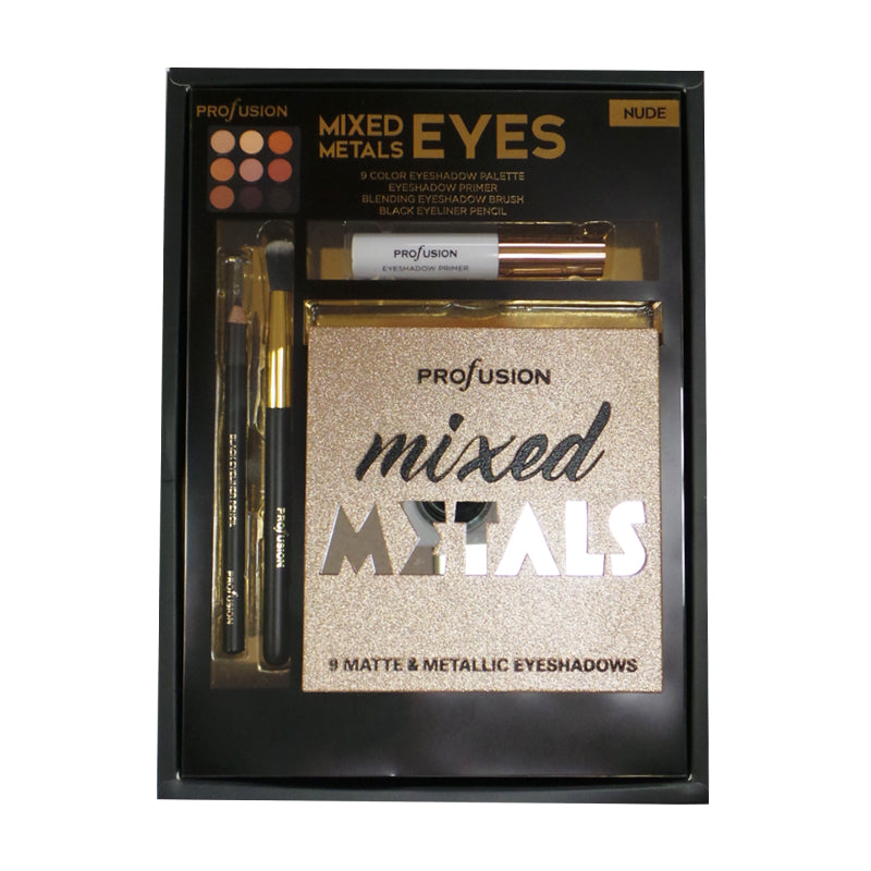 PROFUSION Mixed Metals & Eyes Palette
