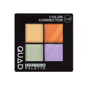 J. CAT BEAUTY Quad Spectrum Palette | HODIVA SHOP