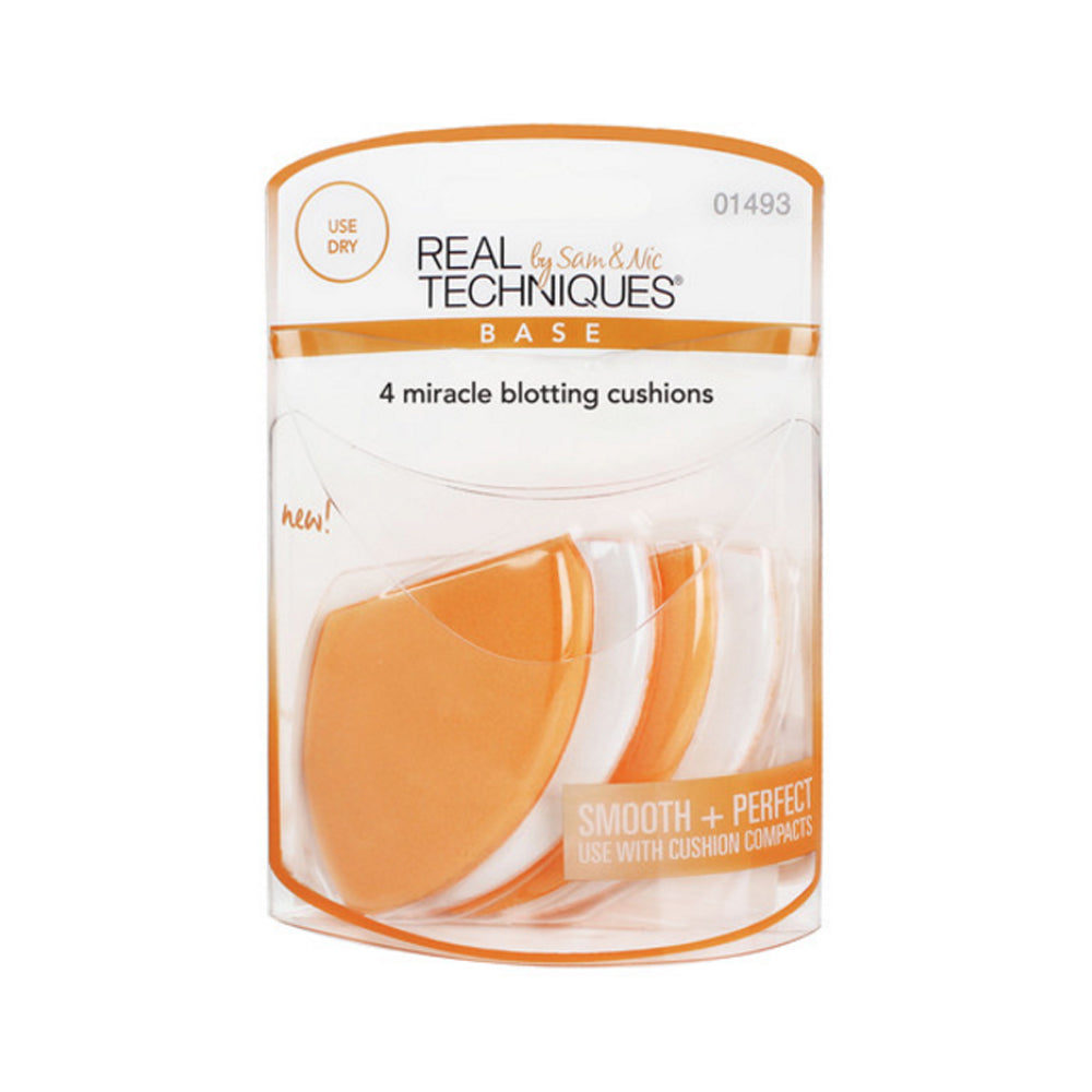 Real Techniques 4 Miracle Blotting Cushions | HODIVA SHOP