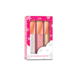 RUDE® Glit & Glow Lip Gloss Trio | HODIVA SHOP