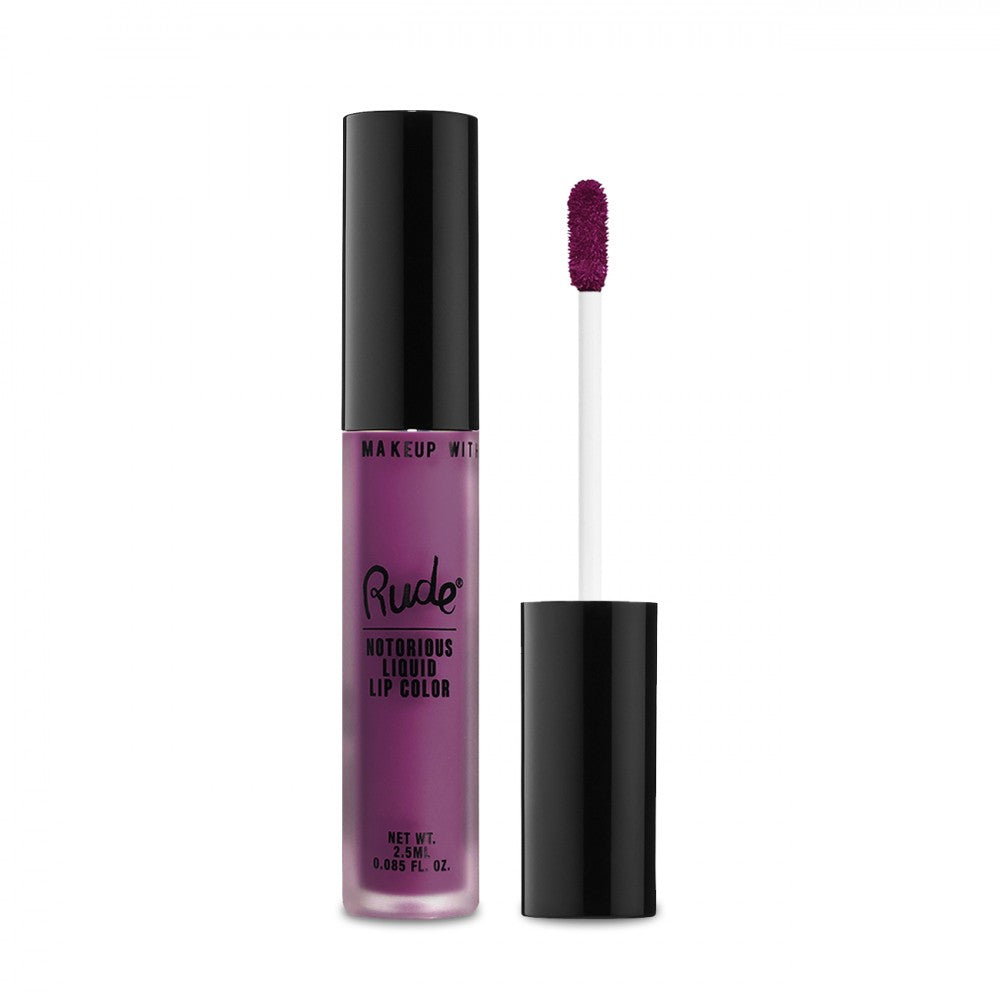 RUDE® Notorious Liquid Lip Color | HODIVA SHOP