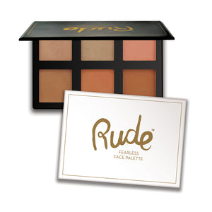 RUDE® Fearless Face Palette | HODIVA SHOP