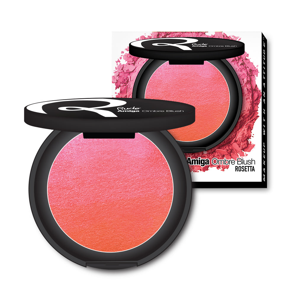 RUDE® Amiga Ombre Blush | HODIVA SHOP
