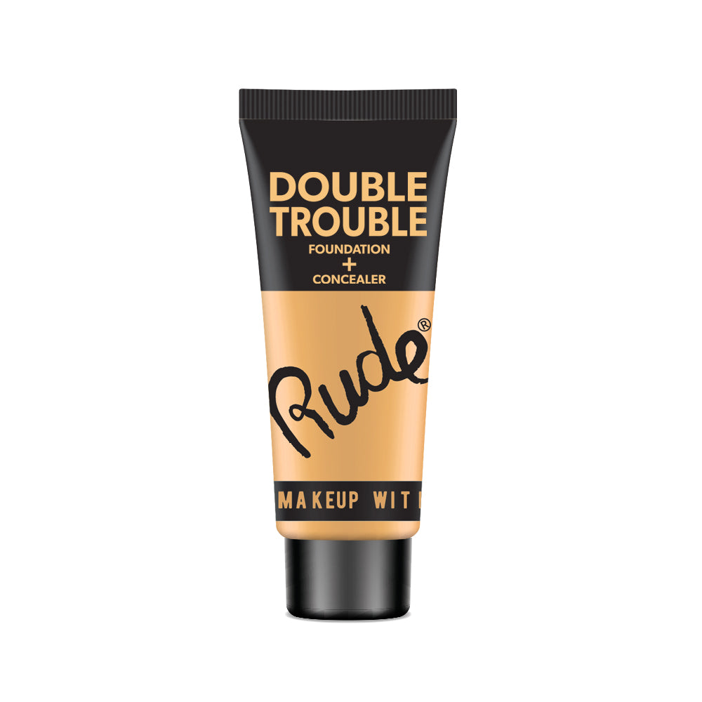 RUDE® Double Trouble Foundation + Concealer