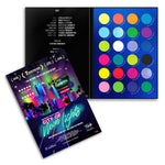 RUDE City of Neon Lights - 24 Vibrant Pigment & Eyeshadow Palette | HODIVA SHOP