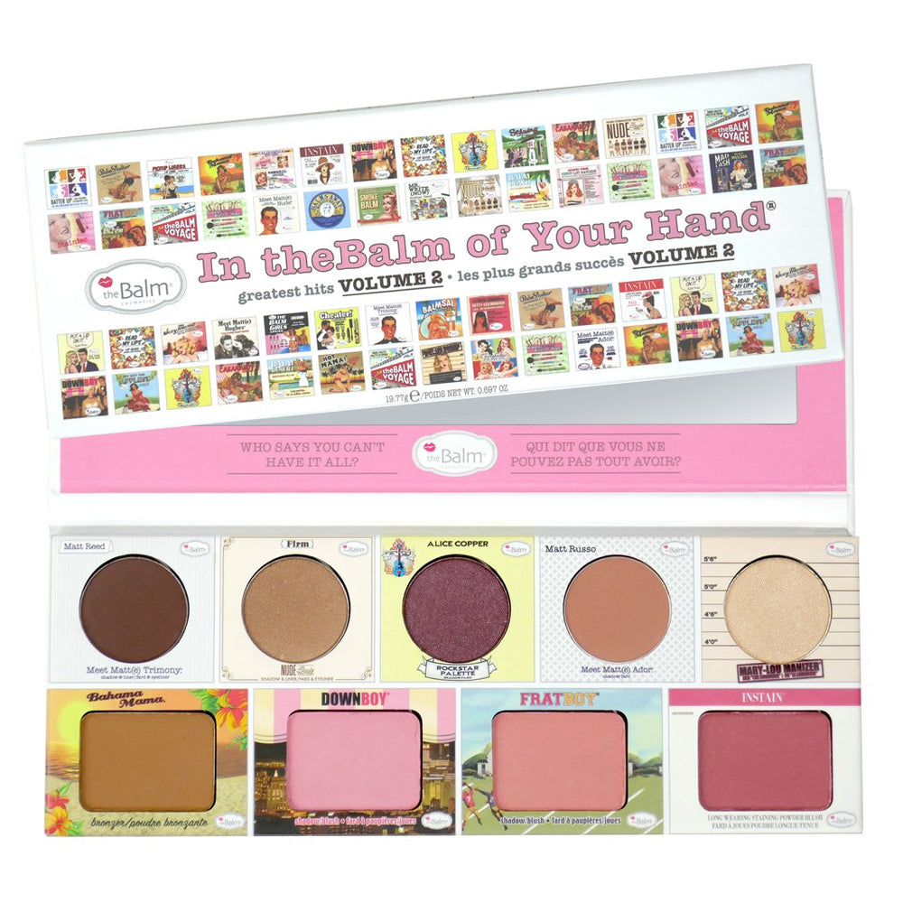 theBalm In theBalm of Your Hand - Greatest Hits Vol. 2 | HODIVA SHOP