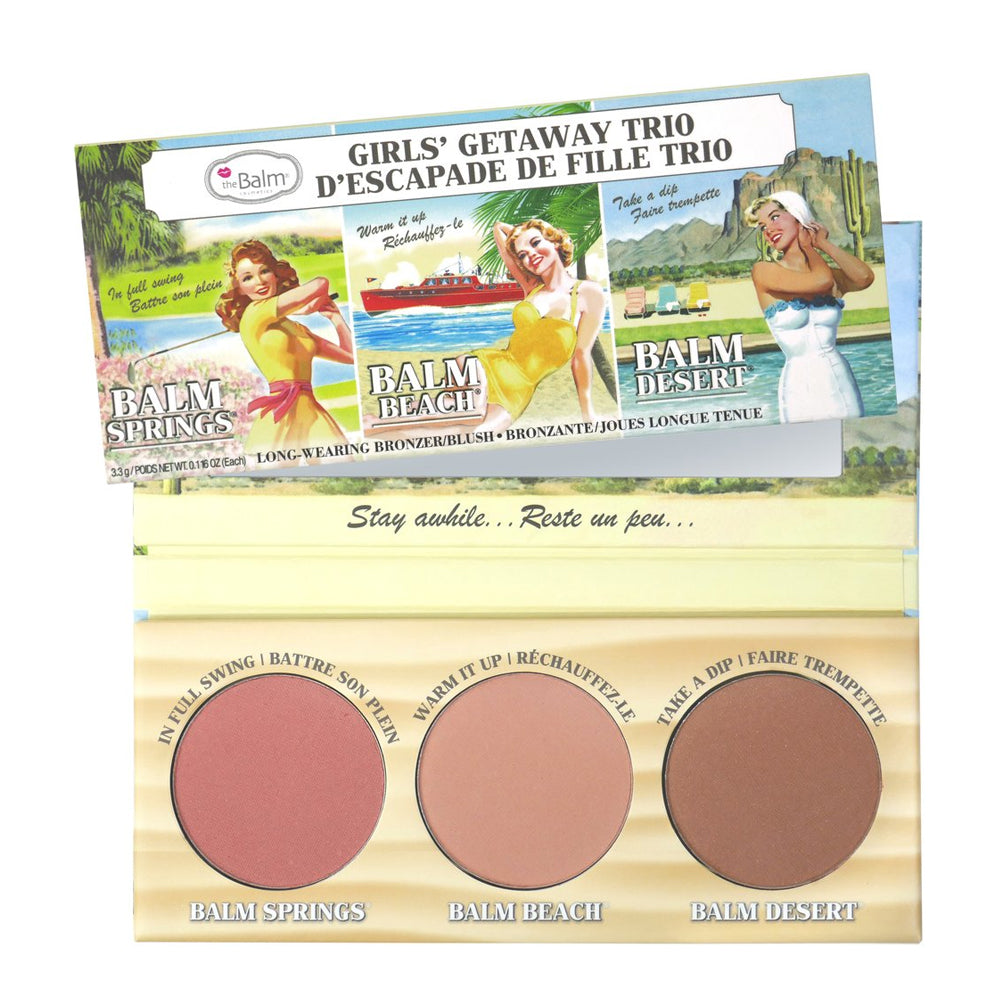 theBalm Girls' Getaway Trio | HODIVA SHOP